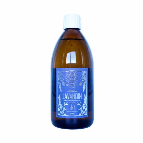 Lavandin essential oil, 500 ml
