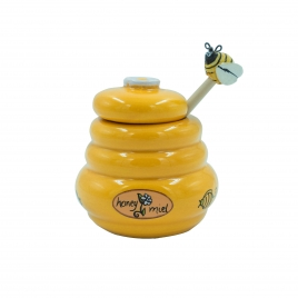 Pot à miel+cuillère