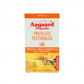Pastilles pectorales Propolis + Huiles essentielles, 30 pastilles