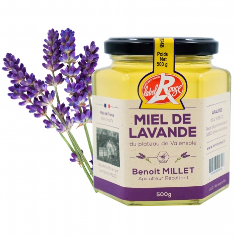 Lavender honey, 500 g - IGP Provence et Label Rouge