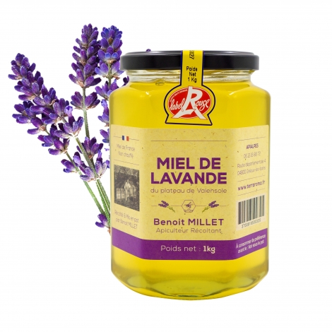 Lavender honey, 500 g - IGP Provence & Label Rouge certified honey