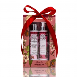 Sweet Almond Duo shower gel & body milk
