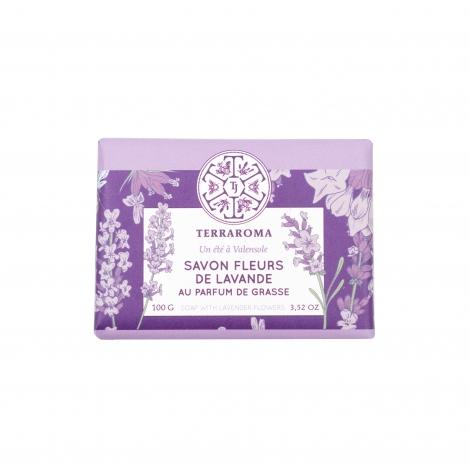 Lavender flower soap, 100 g