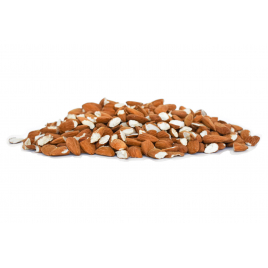 Almonds from Provence in pieces, 1 kg